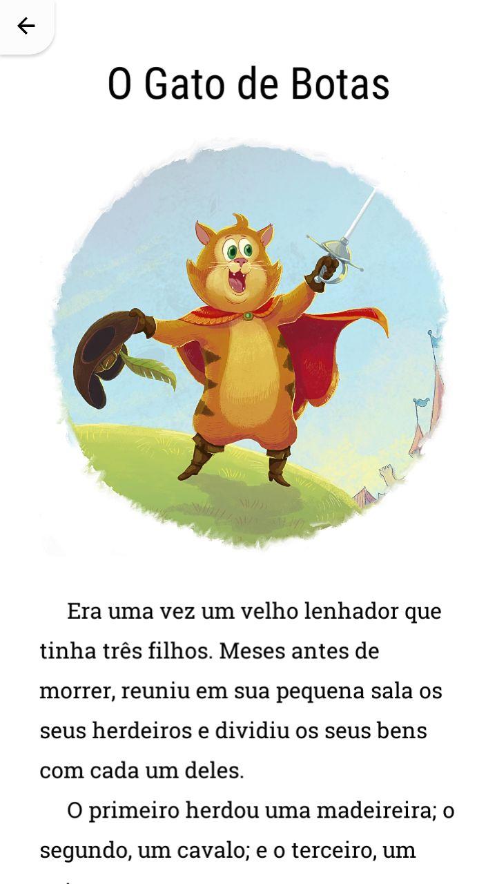 História do Gato de Botas.