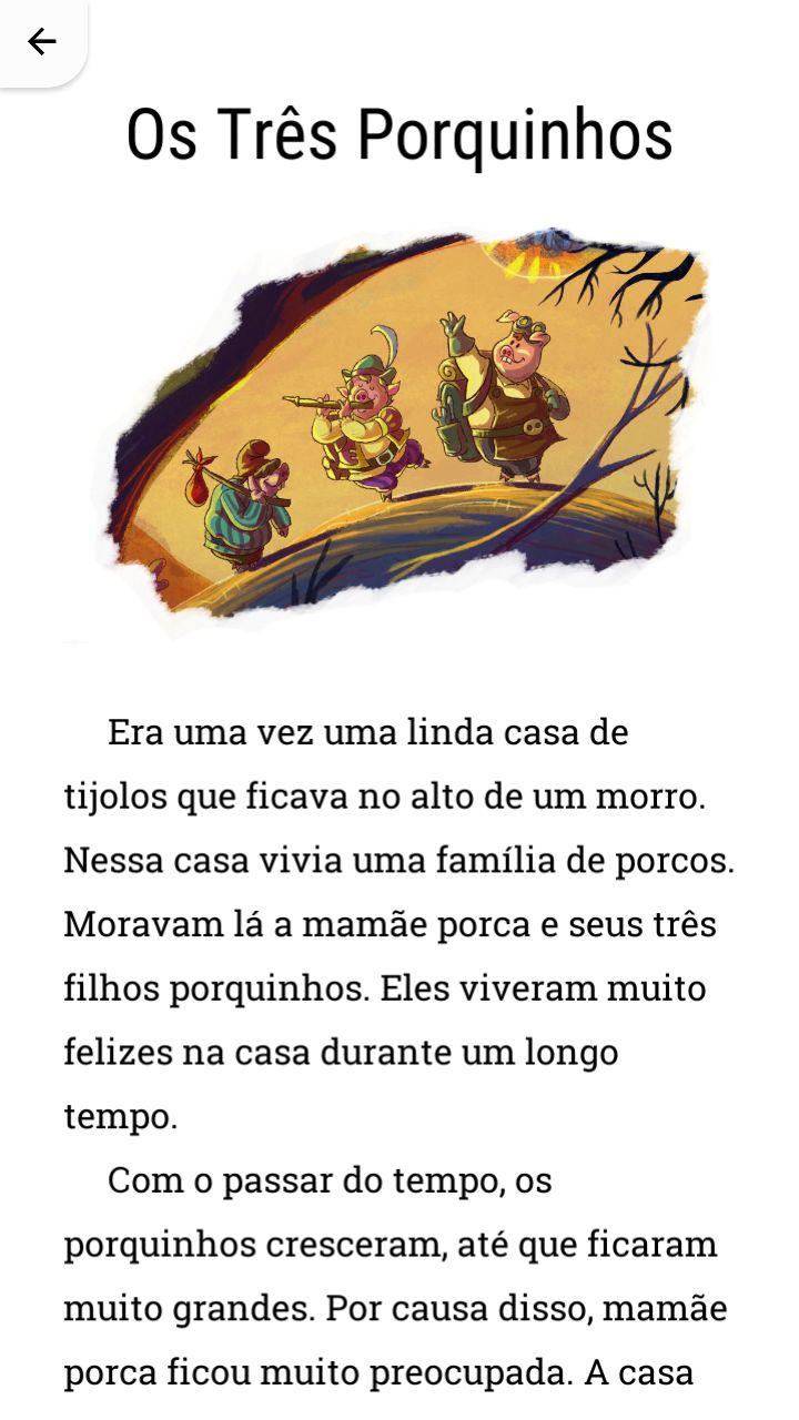 História dos Três Porquinhos.